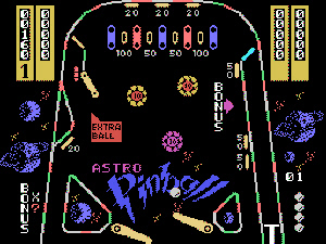 CreatiVision Astro Pinball Screenshot