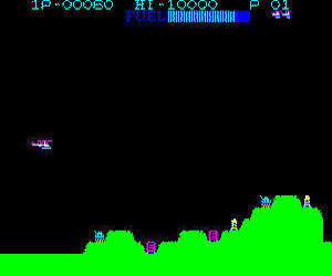 Casio PV-1000 Super Cobra screenshot