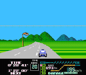 Famicom Grand Prix II - 3D Hot Rally Screenshot