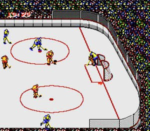 Konamic Ice Hockey Screenshot