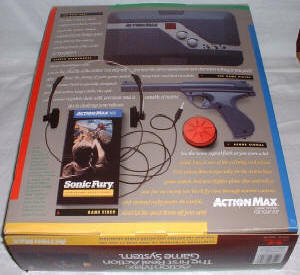 Action Max - Box Back