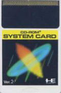 CD-ROM2 System Card