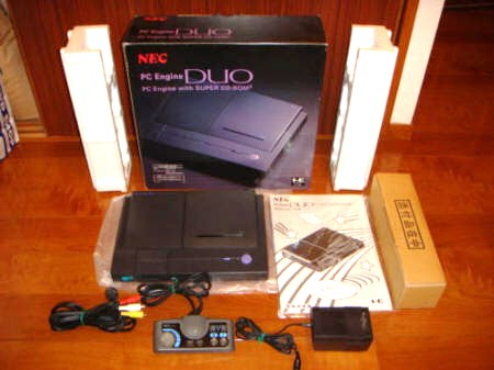 NEC PC Engine Duo \ TurboDuo (Turbo Duo) | Video Game Console Library
