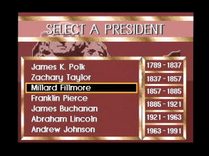 VIS Atlas of United States Presidents screenshot