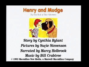 VIS Henry and Mudge: Their First Book screenshot