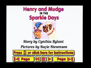 VIS Henry and Mudge: In the Sparkle Days screenshot