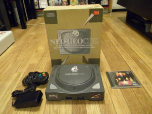 Neo Geo CDZ (picture credit unknown)