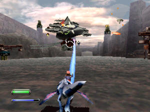 Panzer Dragoon 2 Screenshot