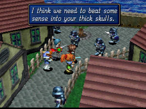 Shining Force III Screenshot