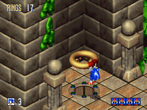 Sonic 3D Blast Screenshot