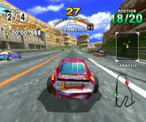 Daytona USA 2001 screenshot