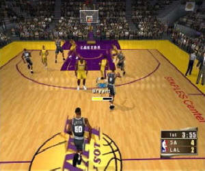 NBA 2K2 screenshot