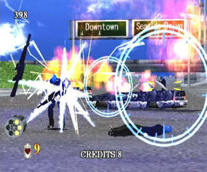 Virtua Cop 2 screenshot