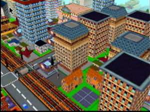 Sim City 64 Screenshot