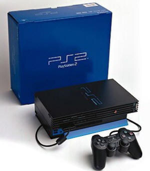 sony playstation 2 video game console library. Black Bedroom Furniture Sets. Home Design Ideas