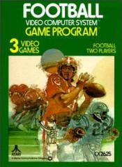 Atari VCS Football Box (picture courtesy of AtariAge.com)