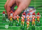 Electronic Football in action (public domain pic)
