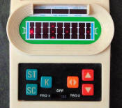 Mattel Electronics Football (picture courtesy of the Handheld Games Museum)