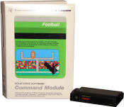 Texas Instruments TI-99/4A Football (picture courtesy of TI994.com)