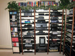 Our Collections Video Game Console Library