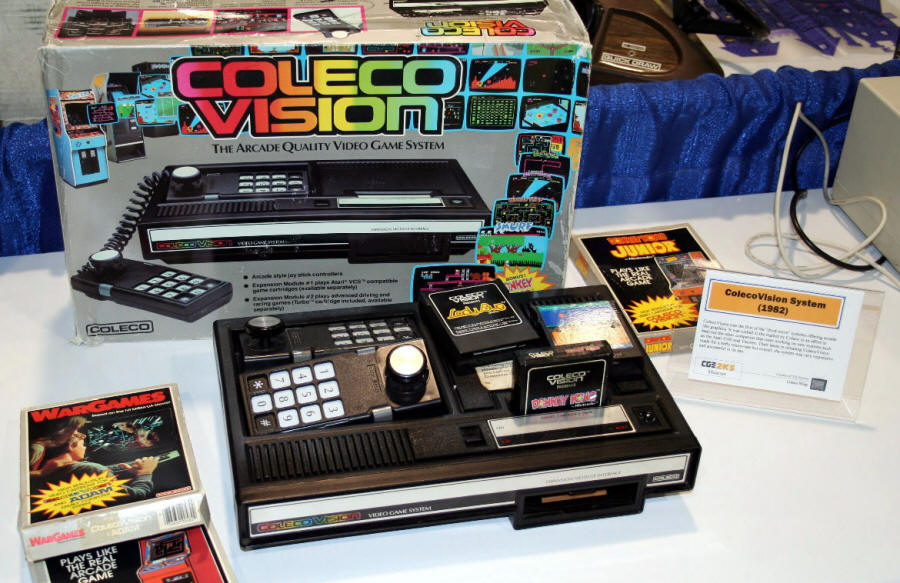 Coleco ColecoVision | Video Game Console Library