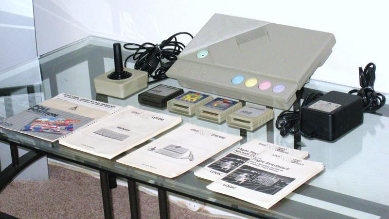 Atari XE Game System (XEGS) | Video Game Console Library